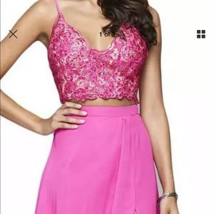 Faviana 2 piece Prom dress size 00
